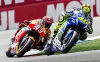 Marquez Tetap Kalah dari Rossi meski Sudah Latihan