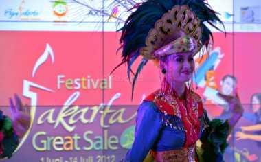 \Peserta Jakarta Great Sale Belum Balik Modal\