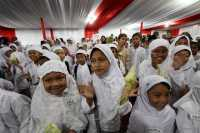 Ramadan, Alumni SMA Muhammadiyah 1 Kramat Santuni Anak Yatim