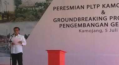 \Jokowi: Ada Potensi Geothermal 28 Ribu Mw di Indonesia\