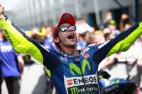 Rossi Perpanjang Rekor Usai Menang di MotoGP Belanda