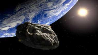 Asteroid Besar Ini Melintas Sangat Dekat dengan Bumi