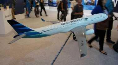 \Garuda Klaim Mesin Pesawat Barunya Lebih Irit\