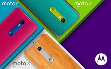 Motorola Umumkan Kehadiran Tiga Smartphone Terbaru