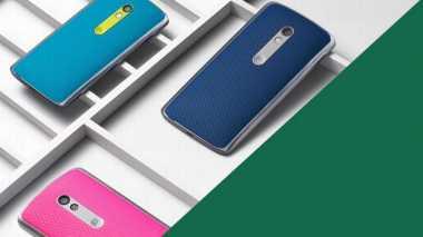 Moto X Play, Ponsel Snapdragon 615 Berbaterai 3.630 mAh