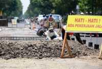 Pasca-Lebaran, Proyek Jalan Sragen Bernilai Rp60 Miliar Dilanjutkan
