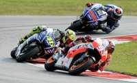 Usaha Rossi dan Lorenzo Hentikan Marquez di Indianapolis