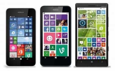 10 Ponsel Lumia Dapat Upgrade Windows 10