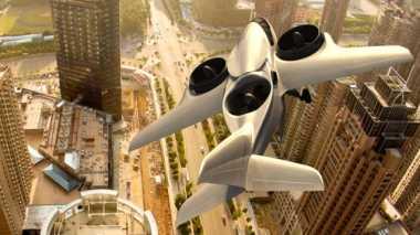 """Pesawat Jet """"Futuristik"""" Tak Perlu Runway untuk Lepas Landas"""