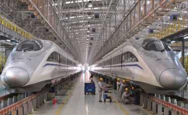 \Giliran China Kirim Utusan Khusus untuk Bersaing Bangun Kereta Cepat\