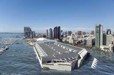 Jika Permukaan Laut Naik, Kota-Kota Ini Lenyap
