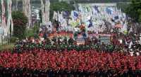 1 September, Puluhan Ribu Buruh Kepung Istana