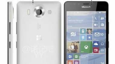 Wujud Lumia 950 Kembali Muncul dengan Warna Putih