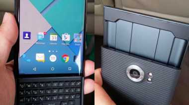 Ini Wujud Detail BlackBerry Android