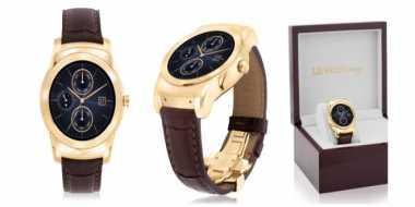 LG Hadirkan Smartwatch dari Kulit Buaya
