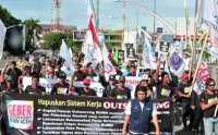 Demo Buruh Tak Akan Ganggu Pasar Saham