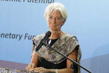 \Jatuhnya Rupiah Tak Luput dari Perhatian Bos IMF\
