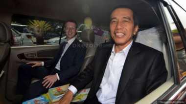 \   Kumpul dengan Go-Jek Dkk, Jokowi: Saya Tambah Pintar Kan?   \