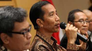 \Curhat Para Pedagang ke Jokowi di Istana\