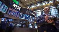 Wall Street Naik Tipis Ditopang Sektor Telekomunikasi