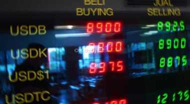 \Rupiah Ditutup di Rp14.172, Transaksi Valas Sepi\