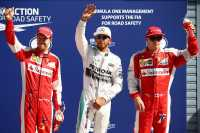 Hamilton Raih Pole Position, Duo Ferrari Mengancam