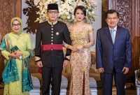 Pernikahan Gista Putri - Wishnutama Dihadiri Jusuf Kalla