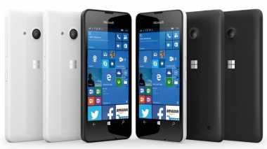 Bocor, Lumia 550 Gunakan Flash Depan