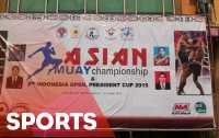 Asian Muay Thai 2015 Diikuti Tujuh Negara