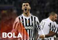 Morata Lanjutkan Rutinitas Cetak Gol untuk Juve