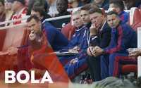 Van Gaal Terkejut United Dikalahkan Arsenal