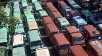 Sopir Angkot Mogok Massal di Bogor, Penumpang Terlantar