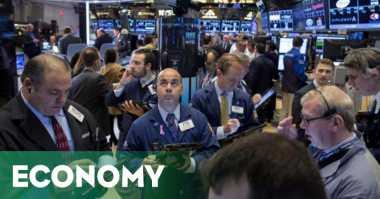 \Saham Kesehatan Melemah, Wall Street Berakhir Mixed\