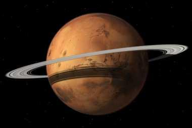 Punya Cincin Baru, Mars Bakal Kehilangan Bulan Terbesarnya
