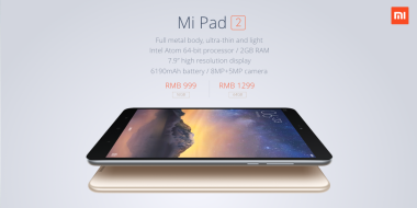 Xiaomi Perkenalkan Mi Pad 2 Berbodi Metal