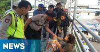 Ini Jembatan Penyebrangan Rawan Tindak Kriminalitas di Jakarta (5)