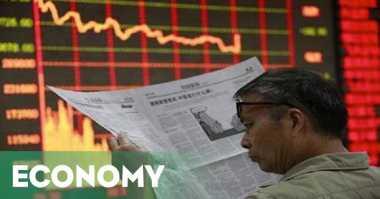 \Indeks Shanghai Turun 5,48%, Hang Seng Terkoreksi 1,87%\