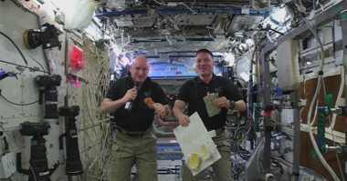 Begini Cara NASA Rayakan Thanksgiving di Antariksa