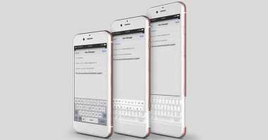 Konsep iPhone 7 Ini Contek BlackBerry Priv