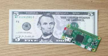 Raspberry Pi Zero, Komputer Kecil Rp68 Ribu