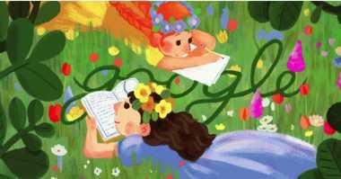 Google Doodles Rayakan Ulang Tahun Penulis Kanada Ternama