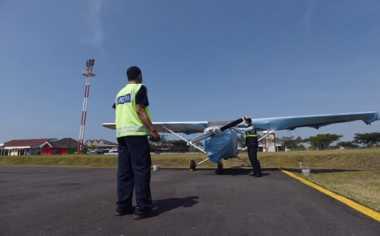 \Sederet PR Garuda di Bandara Pondok Cabe\