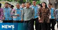 Rayakan HUT KORPRI, JK Bertolak ke Surabaya