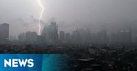 Hujan Deras, Lalin di Depan PN Jakpus Lancar