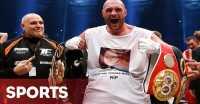 Ucapan Selamat dari Manchester United untuk Tyson Fury