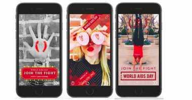 Selfie Netizen di Snapchat Bisa Bantu Pencegahan HIV/AIDS