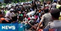 Aksi Solidaritas, Seluruh Mahasiswa Papua Bertahan di Polda Metro