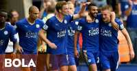 Tampik Rumor Transfer, Vardy Fokus Bela Leicester