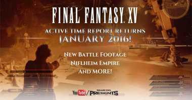 Tanggal Peluncuran Game Final Fantasy XV Terungkap