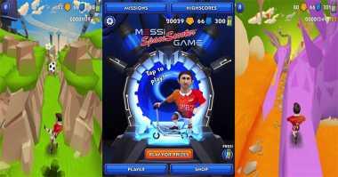 Messi Luncurkan Game Mobile